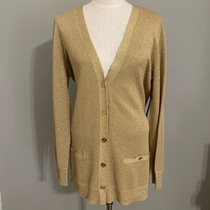 Ralph Lauren NWT Gold Button Down Cardigan Size XL